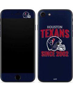 Houston Texans Helmet iPhone SE Skin