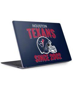 Houston Texans Helmet Surface Laptop 3 13.5in Skin
