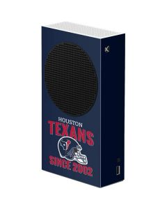 Houston Texans Helmet Xbox Series S Console Skin