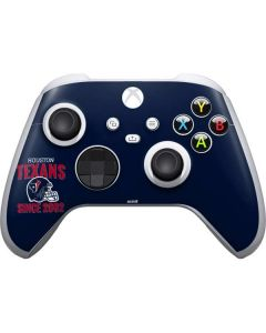 Houston Texans Helmet Xbox Series S Controller Skin