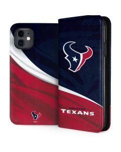 Houston Texans iPhone 11 Folio Case