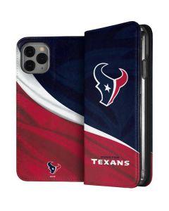 Houston Texans iPhone 11 Pro Folio Case