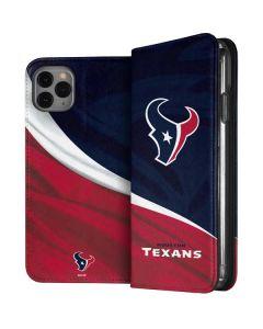 Houston Texans iPhone 11 Pro Max Folio Case