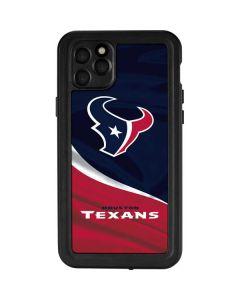 Houston Texans iPhone 11 Pro Max Waterproof Case
