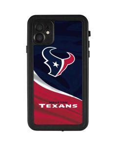Houston Texans iPhone 11 Waterproof Case