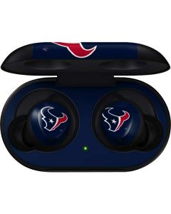 Houston Texans Large Logo Galaxy Buds Skin
