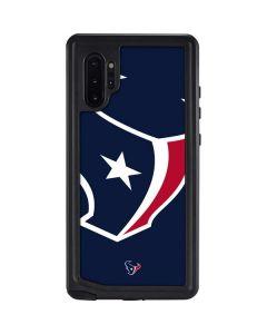 Houston Texans Large Logo Galaxy Note 10 Plus Waterproof Case