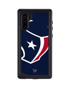 Houston Texans Large Logo Galaxy Note 10 Waterproof Case