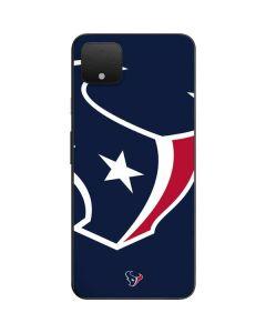 Houston Texans Large Logo Google Pixel 4 XL Skin