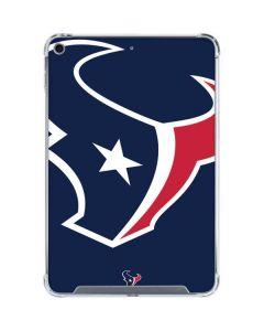 Houston Texans Large Logo iPad Mini 5 (2019) Clear Case