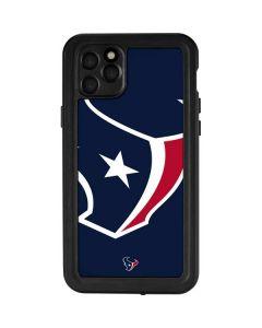 Houston Texans Large Logo iPhone 11 Pro Max Waterproof Case