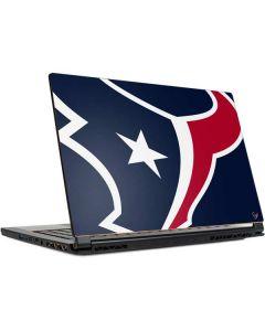 Houston Texans Large Logo MSI GS65 Stealth Laptop Skin