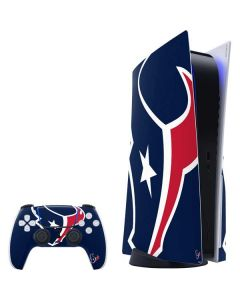 Houston Texans Large Logo PS5 Bundle Skin