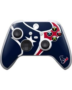 Houston Texans Large Logo Xbox Series S Controller Skin