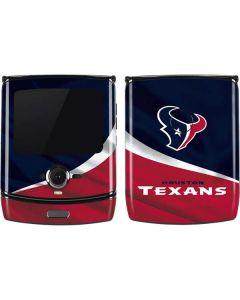 Houston Texans Motorola RAZR Skin