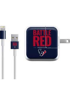 Houston Texans Team Motto iPad Charger (10W USB) Skin