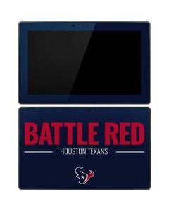 Houston Texans Team Motto Surface RT Skin