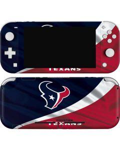 Houston Texans Nintendo Switch Lite Skin
