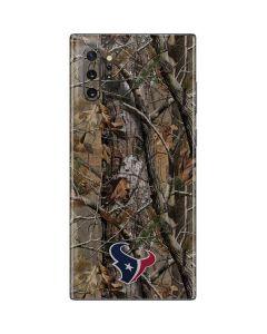 Houston Texans Realtree AP Camo Galaxy Note 10 Plus Skin