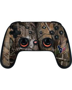 Houston Texans Realtree AP Camo Google Stadia Controller Skin