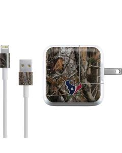 Houston Texans Realtree AP Camo iPad Charger (10W USB) Skin