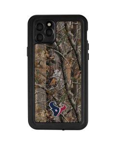 Houston Texans Realtree AP Camo iPhone 11 Pro Max Waterproof Case