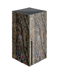 Houston Texans Realtree AP Camo Xbox Series X Console Skin