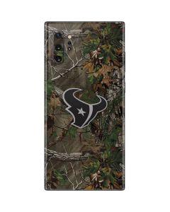 Houston Texans Realtree Xtra Green Camo Galaxy Note 10 Plus Skin
