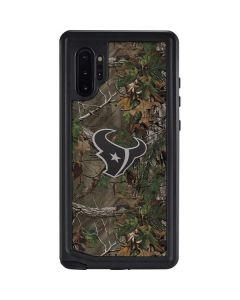 Houston Texans Realtree Xtra Green Camo Galaxy Note 10 Plus Waterproof Case