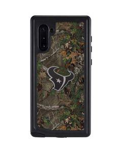 Houston Texans Realtree Xtra Green Camo Galaxy Note 10 Waterproof Case