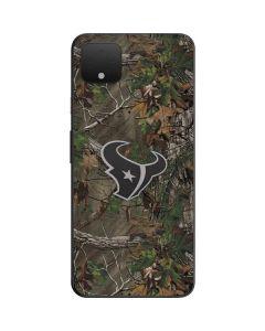 Houston Texans Realtree Xtra Green Camo Google Pixel 4 XL Skin