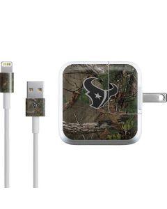 Houston Texans Realtree Xtra Green Camo iPad Charger (10W USB) Skin