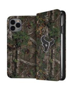 Houston Texans Realtree Xtra Green Camo iPhone 11 Pro Folio Case