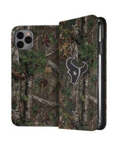 Houston Texans Realtree Xtra Green Camo iPhone 11 Pro Max Folio Case
