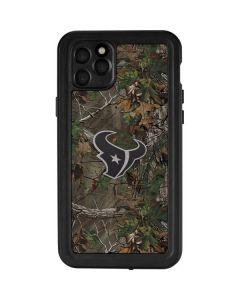 Houston Texans Realtree Xtra Green Camo iPhone 11 Pro Max Waterproof Case