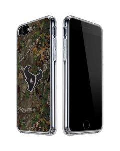 Houston Texans Realtree Xtra Green Camo iPhone SE Clear Case