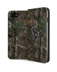 Houston Texans Realtree Xtra Green Camo iPhone SE Folio Case