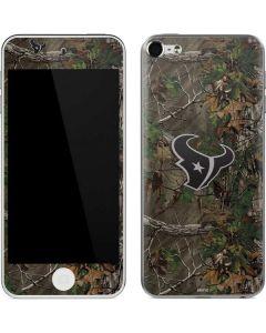 Houston Texans Realtree Xtra Green Camo Apple iPod Skin
