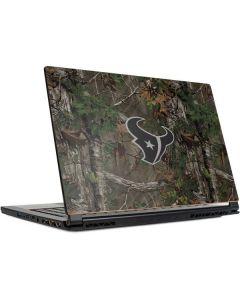 Houston Texans Realtree Xtra Green Camo MSI GS65 Stealth Laptop Skin