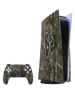 Houston Texans Realtree Xtra Green Camo PS5 Bundle Skin