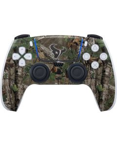 Houston Texans Realtree Xtra Green Camo PS5 Controller Skin