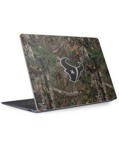 Houston Texans Realtree Xtra Green Camo Surface Laptop 3 13.5in Skin