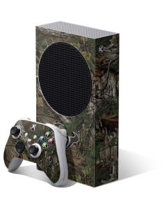 Houston Texans Realtree Xtra Green Camo Xbox Series S Bundle Skin