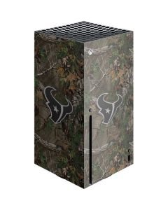 Houston Texans Realtree Xtra Green Camo Xbox Series X Console Skin