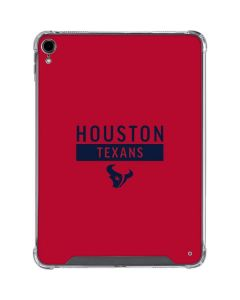 Houston Texans Red Performance Series iPad Pro 11in (2018-19) Clear Case