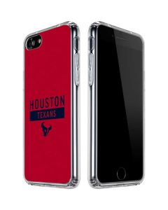 Houston Texans Red Performance Series iPhone SE Clear Case
