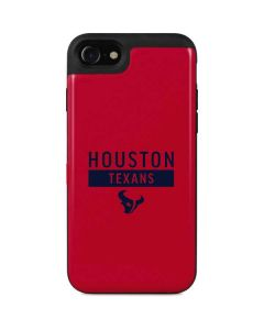 Houston Texans Red Performance Series iPhone SE Wallet Case