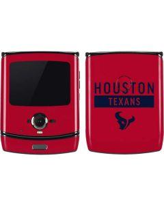 Houston Texans Red Performance Series Motorola RAZR Skin