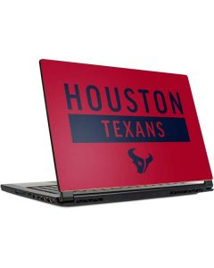 Houston Texans Red Performance Series MSI GS65 Stealth Laptop Skin