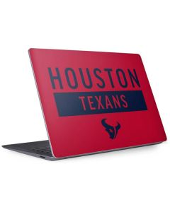 Houston Texans Red Performance Series Surface Laptop 3 13.5in Skin